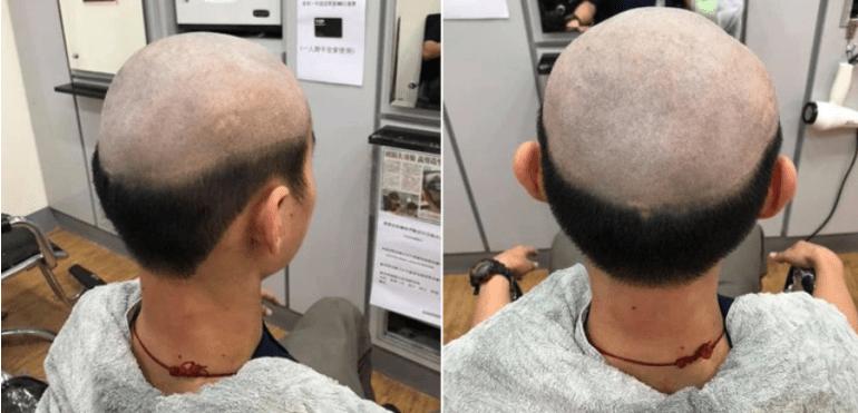 [VIDEO] Ibu Cukur Rambut Anak Ke Separuh Botak Untuk Larang Dari Keluar Semasa Wabak Covid-19