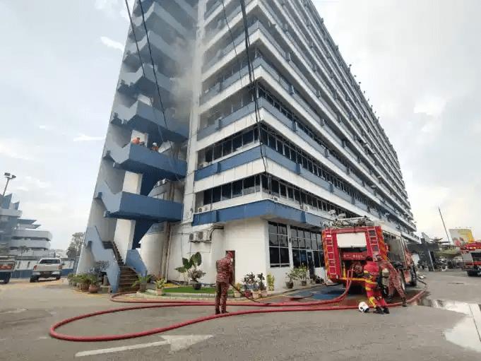 IPK Pahang Terbakar, Tiada Kemalangan Jiwa