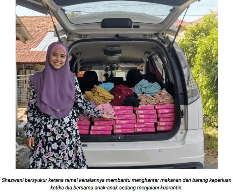 [VIDEO] Isteri Dedah Suami Positif Covid-19 Selepas Rider COD Barang Di Rumah Pelanggan Gelang Pink