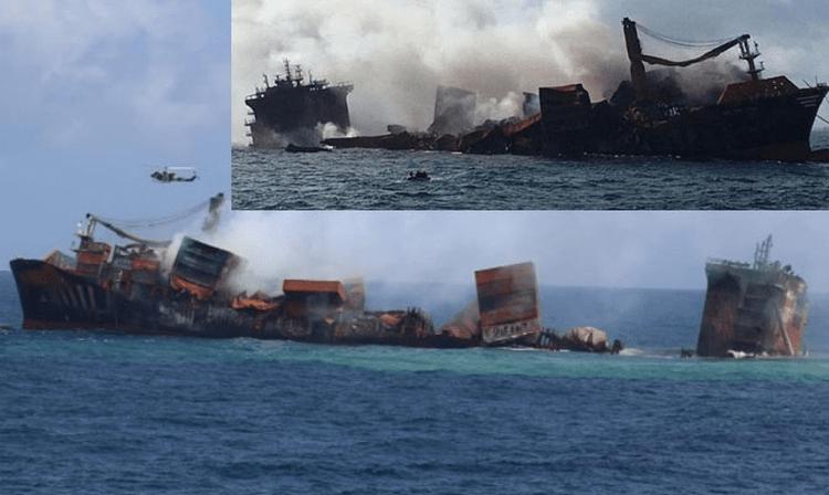 [VIDEO] Kapal karam: Sri Lanka berdepan pencemaran laut terburuk
