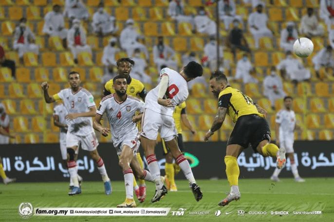 Harimau Malaya Hilang Ngauman, Dikalahkan UAE 4-0 di Dubai