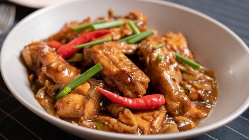 Resepi Ayam Sos Tiram