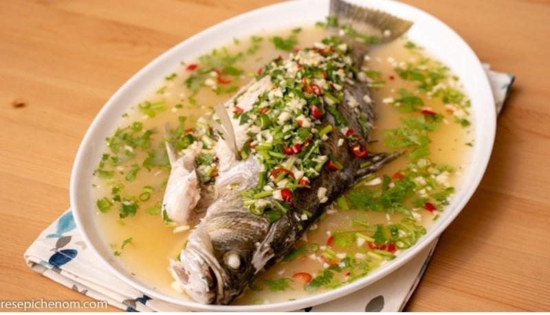 Resepi Ikan Siakap Stim Limau ala Thai