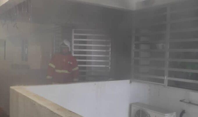Budak enam tahun maut akibat sesak nafas, rumah terbakar