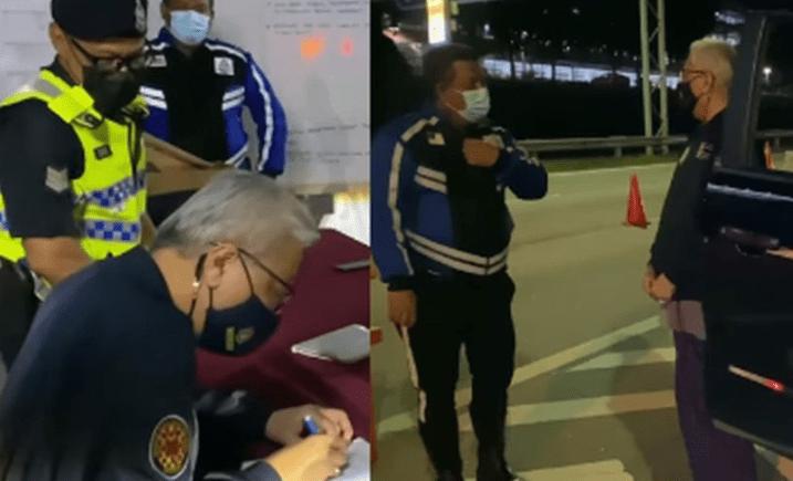 Steady Pak Long, Berkain Pelikat - Ismail Sabri Pandu Kereta Pantau 'Lockdown' Di SJR [VIDEO]