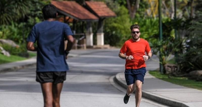 Dilarang joging di kawasan kejiranan orang lain, kata polis