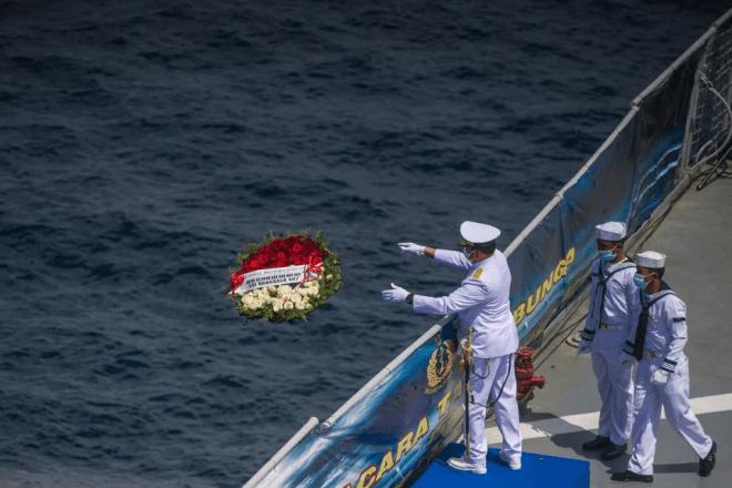 Indonesia tamatkan operasi keluarkan bangkai KRI Nanggala-402