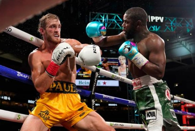 Floyd Mayweather vs Logan Paul: Tiada pemenang, tetapi bawa pulang RM200 juta
