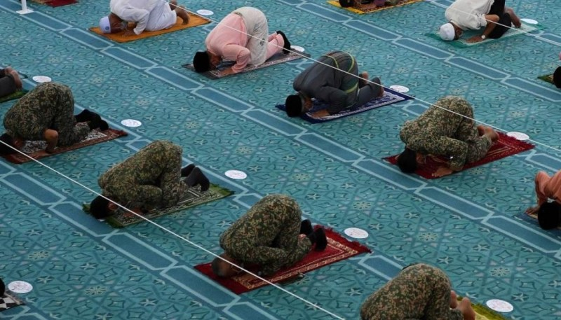 Buka masjid bagi jemaah sudah divaksin