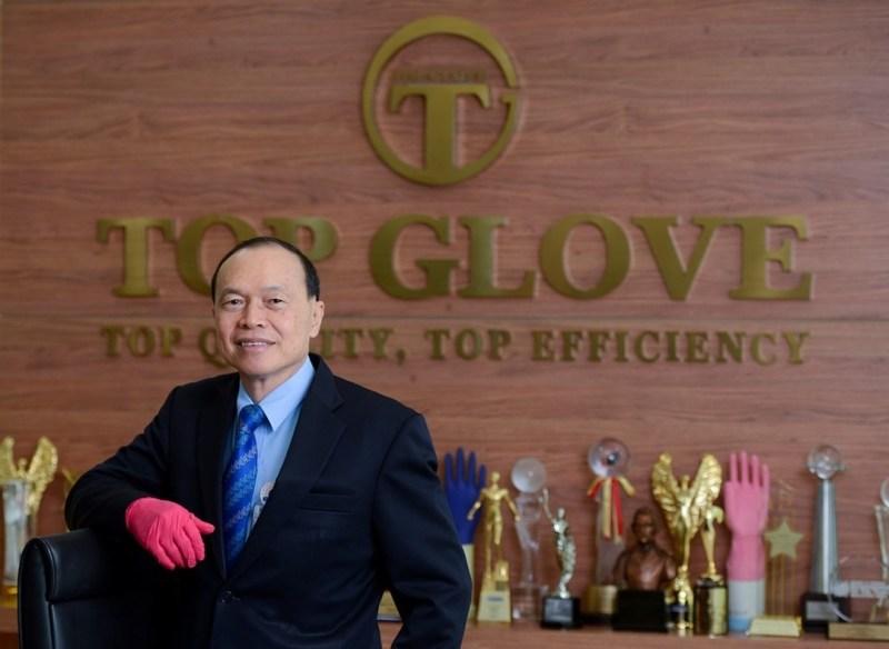 Pengasas Top Glove terima dividen RM509 juta