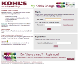 You may make a kohl's card payment at your local store, by mail, by phone or online by enrolling at my kohl's card. My Kohls Charge Payment Options