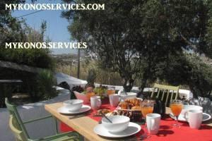 D Angelo villa sea view - rent villa mykonos services 5