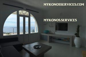 D Angelo villa sea view - rent villa mykonos services 8