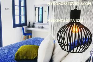 Villa D Angelo Sunset Penthouse by the wind mills - mykonos services - rent villa mykonos 14