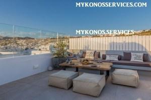 Villa D Angelo Sunset Penthouse by the wind mills - mykonos services - rent villa mykonos 19