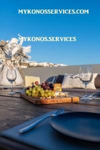 Villa D Angelo Sunset Penthouse by the wind mills - mykonos services - rent villa mykonos 111111