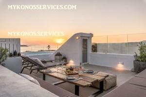 Villa D Angelo Sunset Penthouse by the wind mills - mykonos services - rent villa mykonos 11111111111