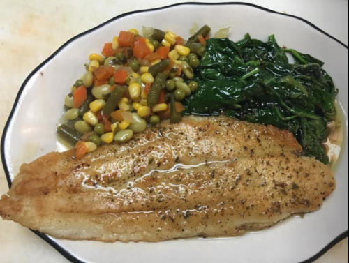 Basa and Veggies  Special