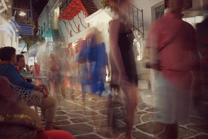Getting around Mykonos town (Chora)