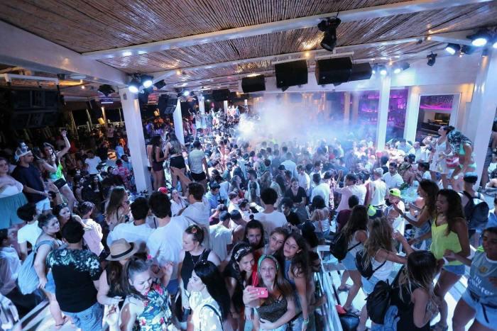 Mykonos beach club
