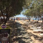 Agrari beach Mykonos