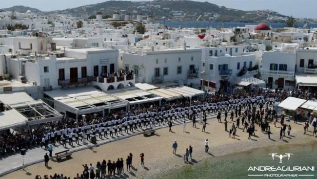 Hasapiko Greek Dance in Mykonos on Palm Sunday 2018!