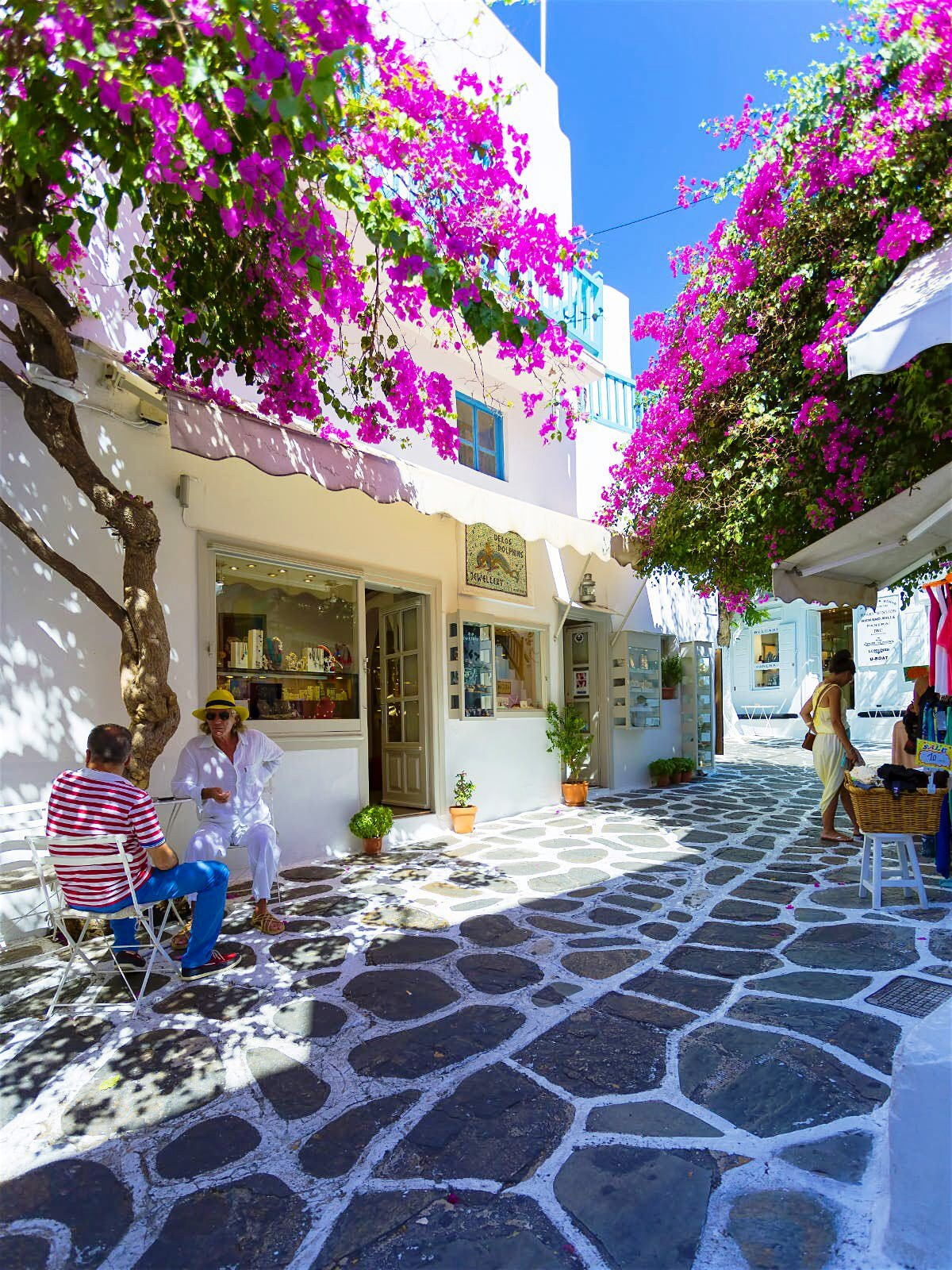 Mykonos Town - Enoplon Dinameon Street