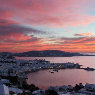 Celebrities and jetsetters enjoy their 2018 vacation in Mykonos island