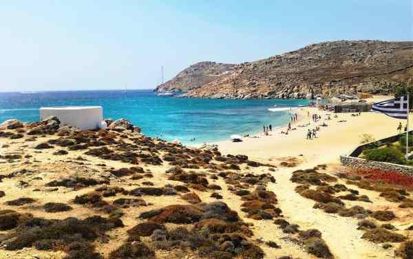 Agrari beach Mykonos island, Greece - Mykonos Traveller