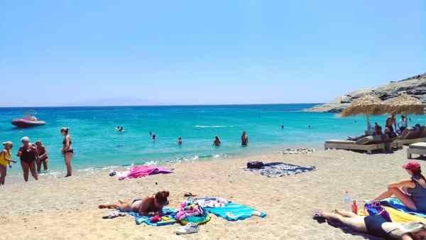 Lia beach Mykonos island, Greece - Mykonos Traveller