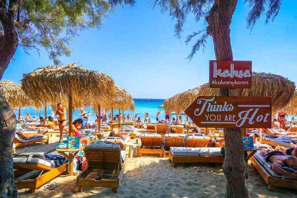 Paraga beach Mykonos island, Greece - Mykonos Traveller