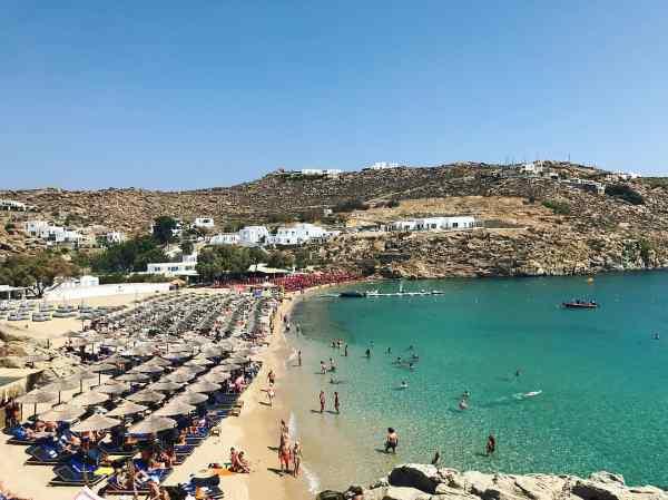 Super Paradise beach Mykonos island, Greece - Mykonos Traveller