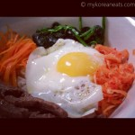 #2 Bibimbab 비빔밥 (Korean Rice Mixed w Vegetables)