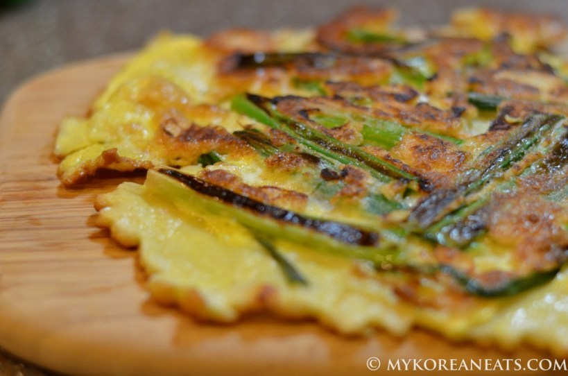 Pajeon (Scallion Pancake)