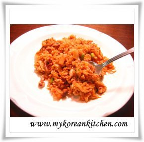 Easy Kimchi Tuna Fried Rice