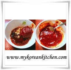 calamary marinating sauce