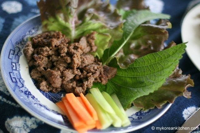 Korean Style Kangaroo Meat BBQ | MyKoreanKitchen.com