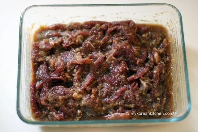 Marinating Kangaroo Meat
