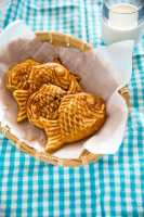 Bungeoppang (Korean fish shaped pastry) recipe   MyKoreanKitchen.com