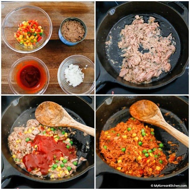How to Make Korean Spicy Tuna | MyKoreanKitchen.com