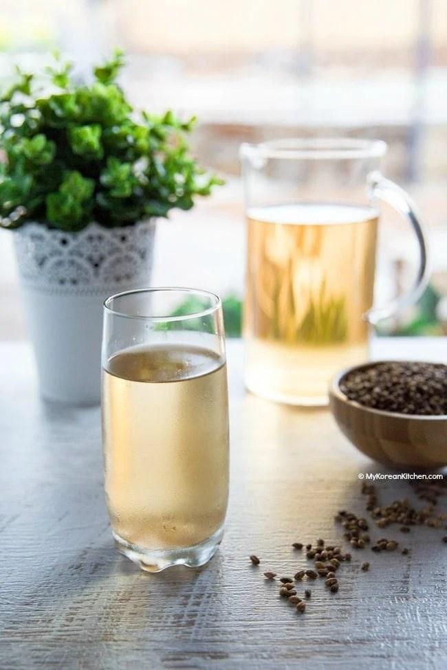 Korean Barley Tea (Boricha) Recipe   MyKoreanKitchen.com
