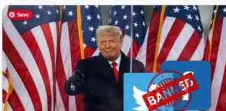 facebook and twitter banned trump account for 12 hours