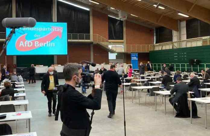 AfD elects the new party leadership at the face to face event