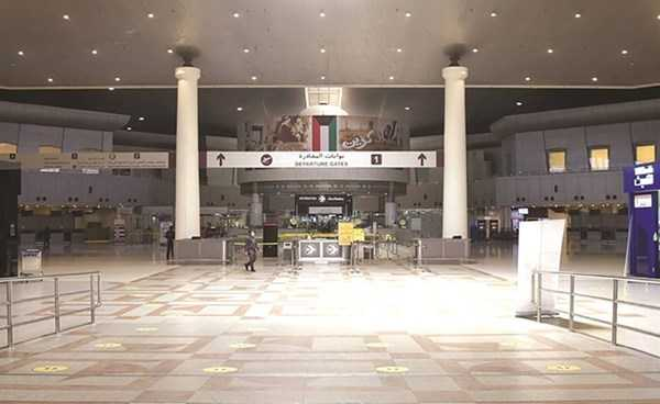 288 passengers arrived at Kuwait Airport on board 24 flights