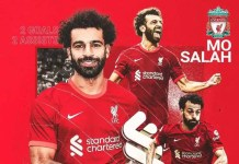 Salah is Liverpool player of the month