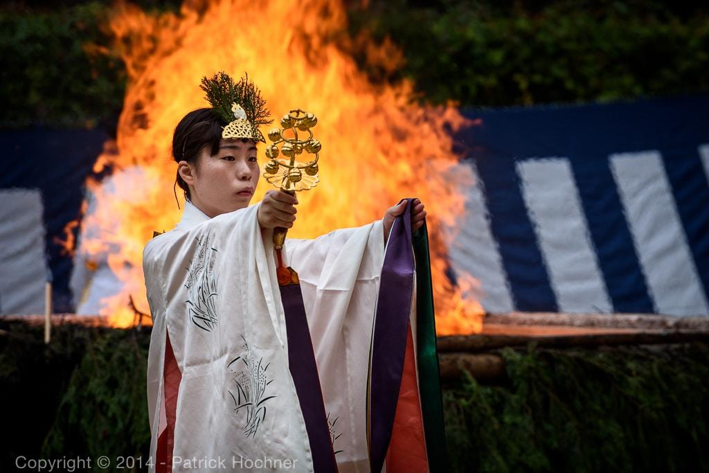 Hitakisai ceremony at the Fushimi Inari Taisha Shrine