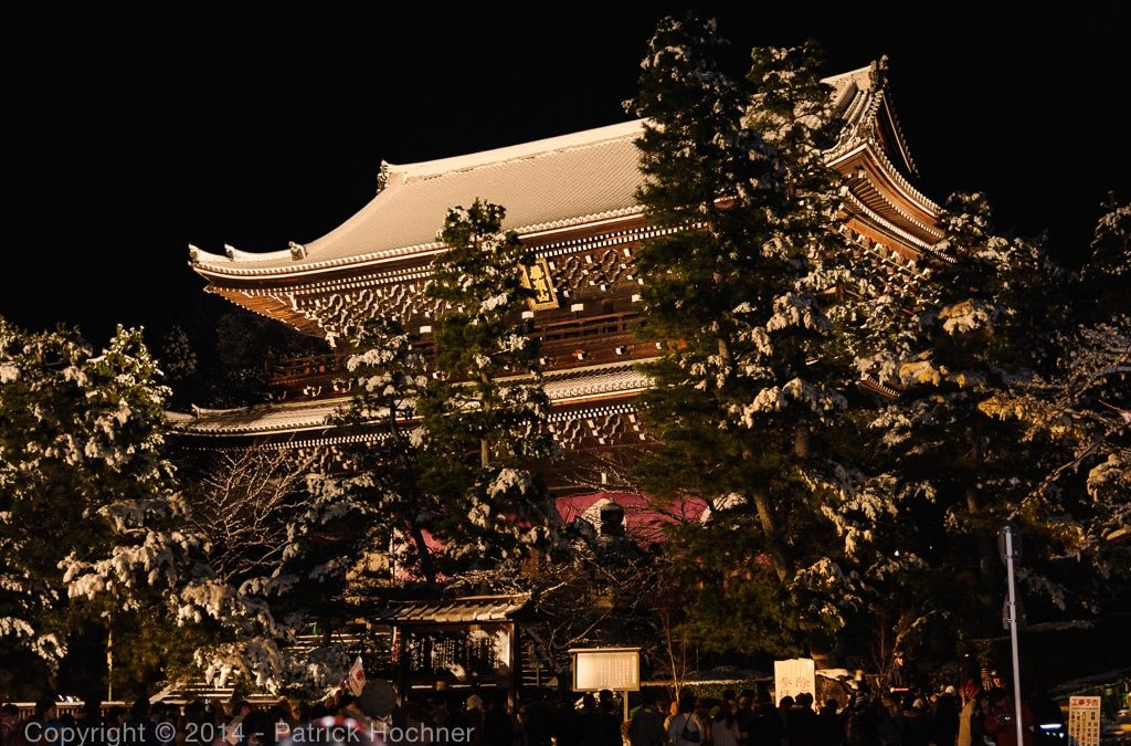 Shogatsu at the Chion-In Temple