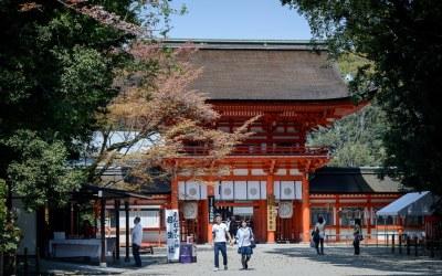 Shimogamo Jinja Shrine