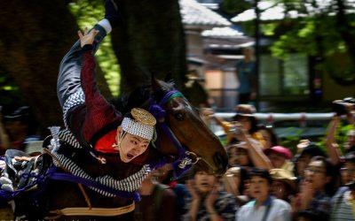Equestrian Festival at the Fujinomori Shrine