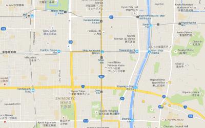 Moving Around Kyoto
